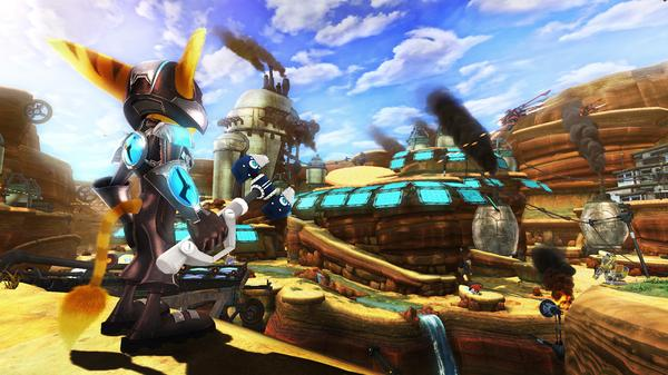 ratchet and clank a crack in time solution